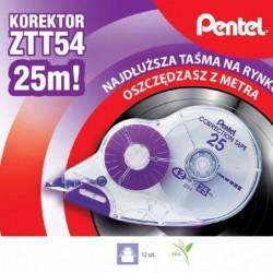 Korektor w taśmie Pentel ZT54
