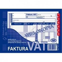 Faktura VAT dla...