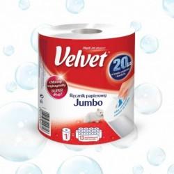 Ręcznik w roli Velvet Jumbo